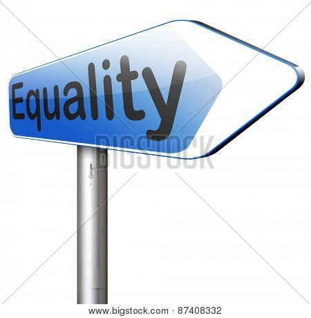 equality for all and solidarity equal rights and opportunities no discrimination
