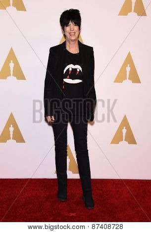 LOS ANGELES - FEB 02:  Diane Warren arrives to the Oscar Nominee Reception  on February 2, 2015 in Beverly Hills, CA