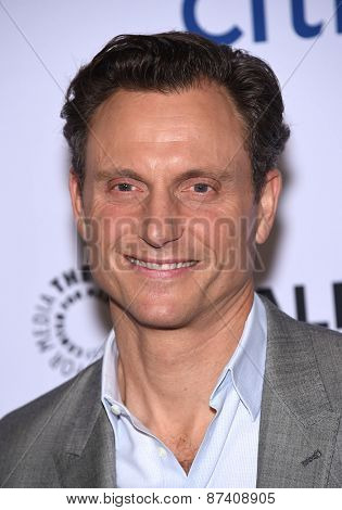 LOS ANGELES - MAR 08:  Tony Goldwyn arrives to the Paleyfest 2015