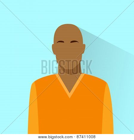 profile icon bold african american male avatar portrait casual