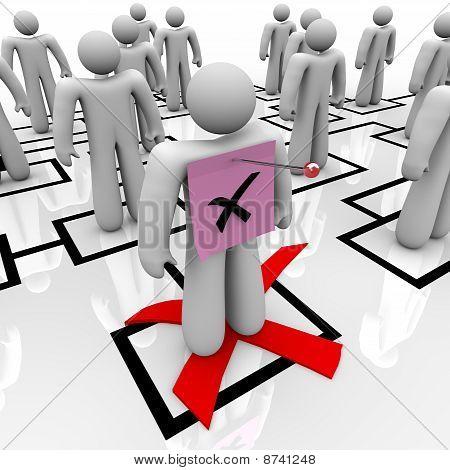 Pink Slip - Organizational Chart