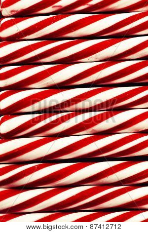 Candy cane background, Christmas background with candie cane texture, retro new year theme