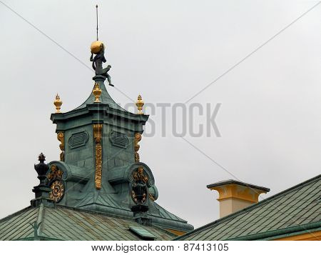 Wilanow Palace Roof