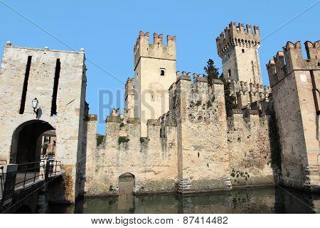 Castle Scaligero of Lake Garda