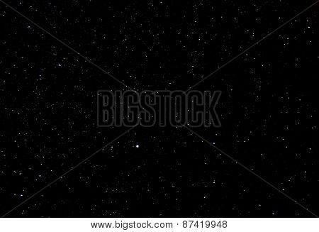 Dark starry sky background