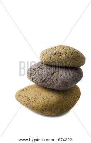 Three Stones Pile