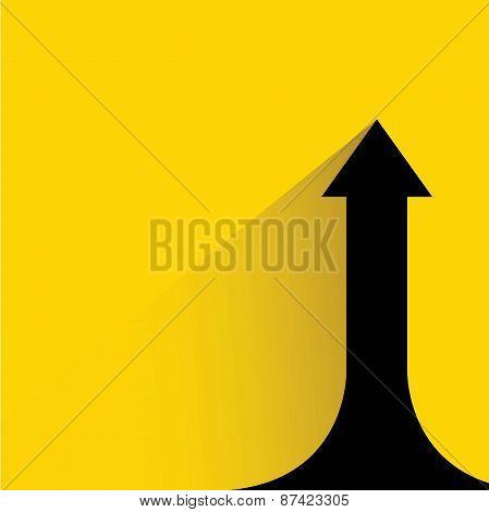 increasing arrow chart