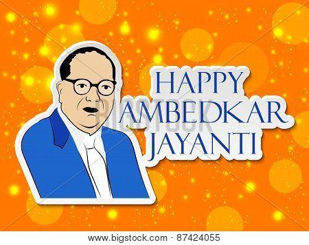 Happy Ambedkar Jayanti.