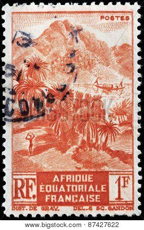 Equatorial Africa Stamp