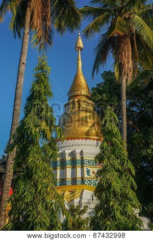 Gold and White Pagoda