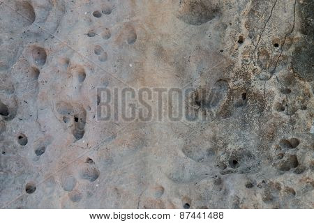 background, design and texture concept - relief volcanic stone texture