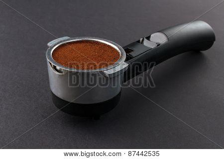 Coffee machine holder