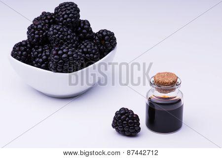 Blackberry And Bottle