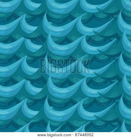 seamless pattern. decorative wave.