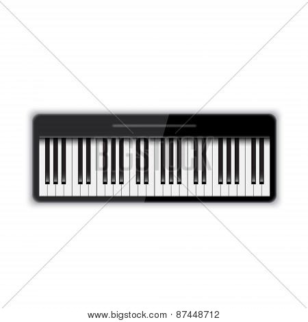Isolated piano