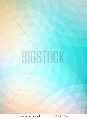Abstract Soft Circles Background Illustration