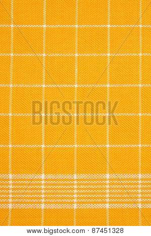 detail of yellow dishtowel backgrounds