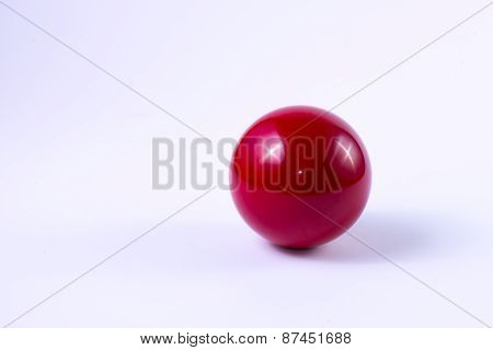 Billard Red Ball