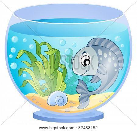 Aquarium theme image 5 - eps10 vector illustration.