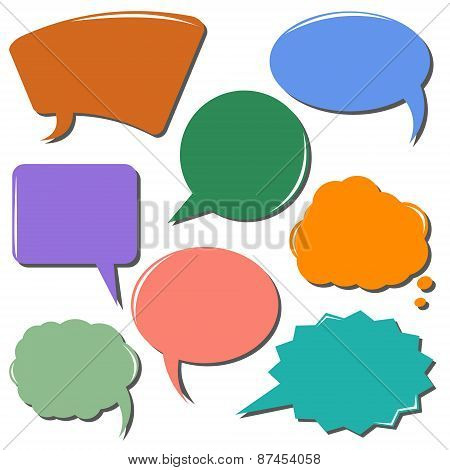 Colorful Communication Bubbles