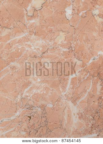 Pink Marble With Veins
