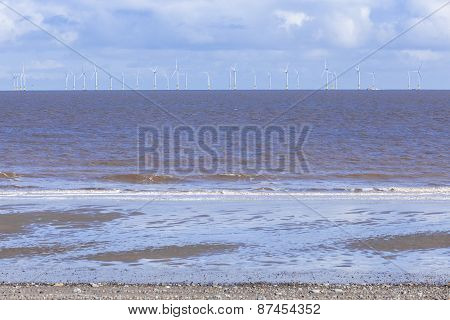 Offshore Wind Farm Spurn Point Uk