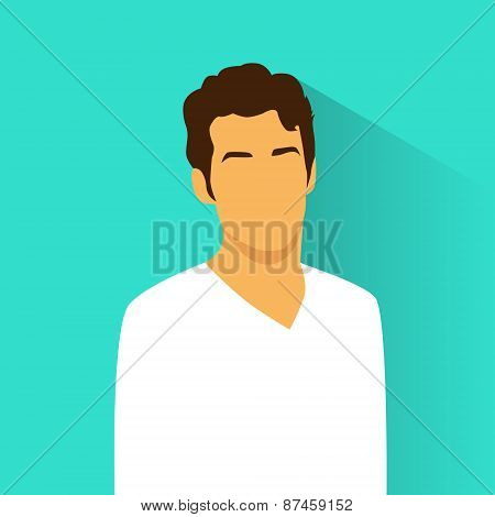 profile icon male hispanic avatar portrait casual