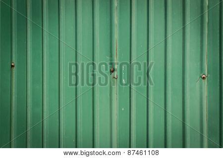Weathered Green Zinc