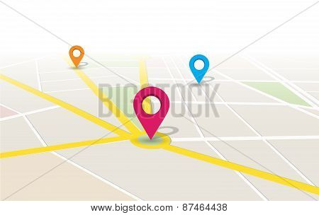 Vector Map Location App