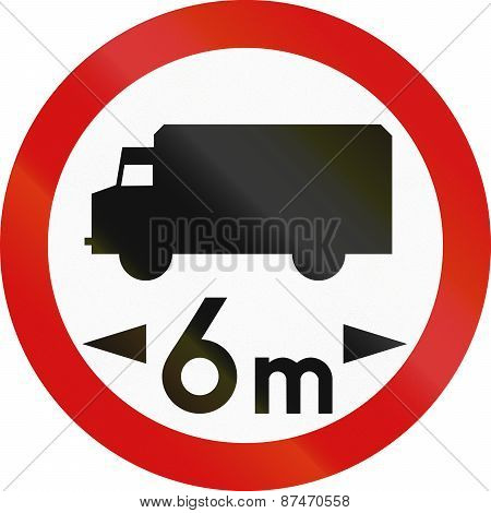 Lorry Weight Limit In Poland