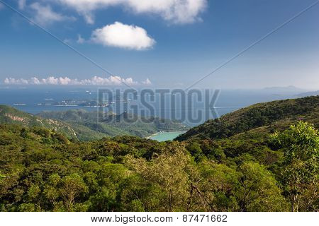 Mountains With Ocean View