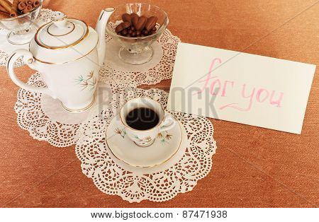 Coffee With A Note