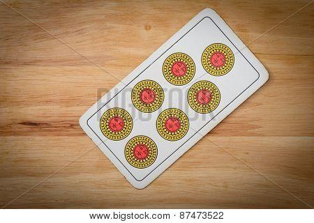 Cards Game Settebello