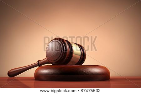 Law Judge And Justice Symbol