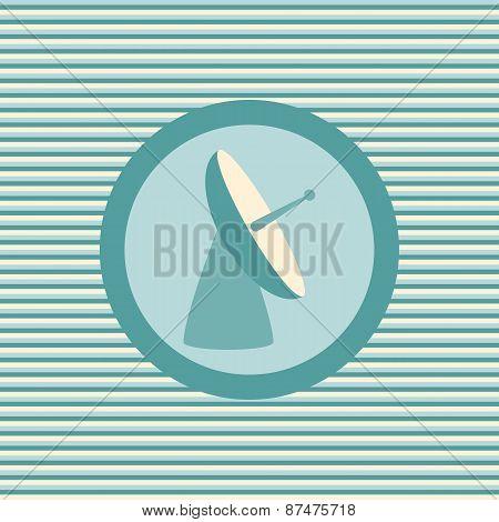 Radar Color Flat Icon