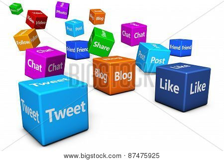 Social Media Web Signs