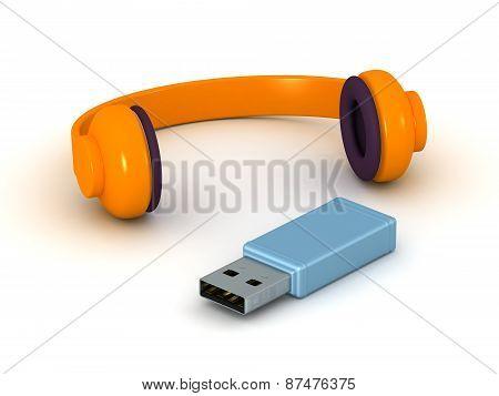 3D Headphones and USB