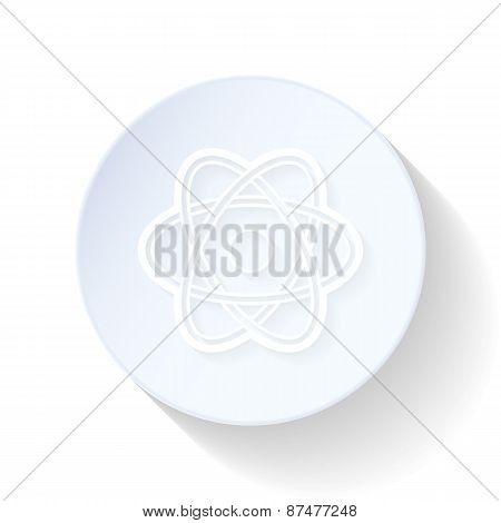 Atom Thin Lines Icon