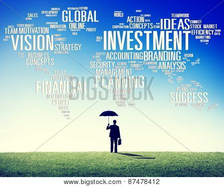 Investment Global Business Profit Banking Budget Concept