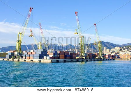 Port Of Genoa