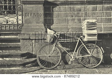Postman Bike, Retro Style