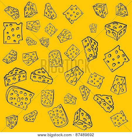 Cheese pattern