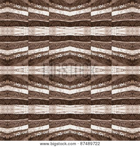 Geometric Collage Decorative Pattern