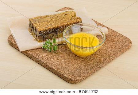 Honey With Comb