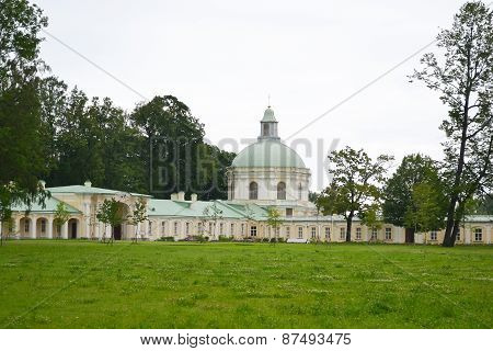 Big Menshikovsky Palace In Oranienbaum.