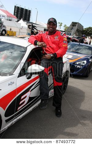 LOS ANGELES - FEB 7:  Mekhi Phifer at the Toyota Grand Prix of Long Beach Pro/Celebrity Race Press Day at the Grand Prix Compound on FEB 7, 2015 in Long Beach, CA