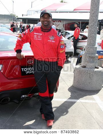 LOS ANGELES - FEB 7:  Alfonso Ribeiro at the Toyota Grand Prix of Long Beach Pro/Celebrity Race Press Day at the Grand Prix Compound on FEB 7, 2015 in Long Beach, CA