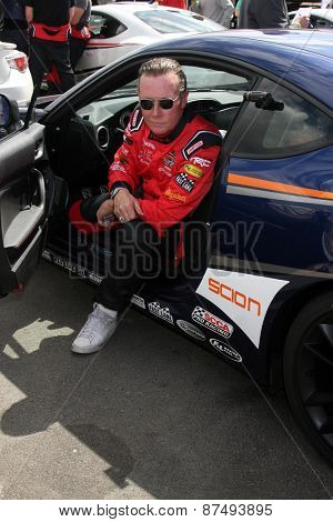 LOS ANGELES - FEB 7:  Robert Patrick at the Toyota Grand Prix of Long Beach Pro/Celebrity Race Press Day at the Grand Prix Compound on FEB 7, 2015 in Long Beach, CA
