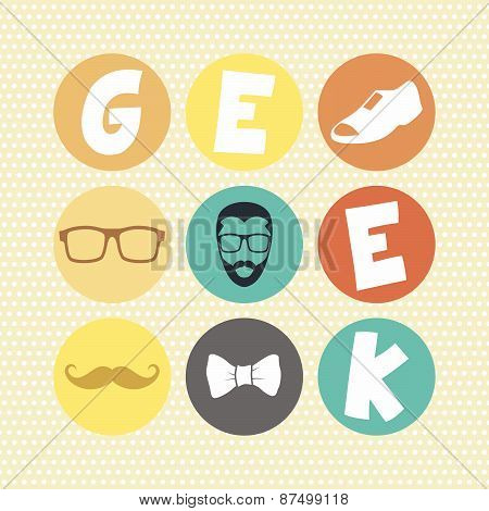 geek retro theme