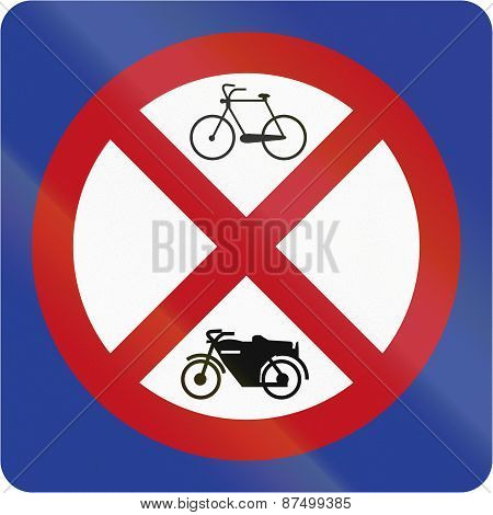 No Parking For Bicycles Or Motorcycles In Brunei